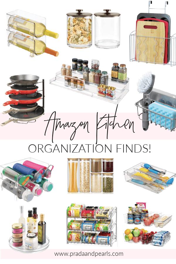 Amazon Kitchen Organization Must Haves