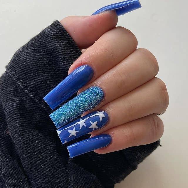 star nail designs, star nail art, star nails short, star nail ideas, star nails acrylic, nail art, blue nails