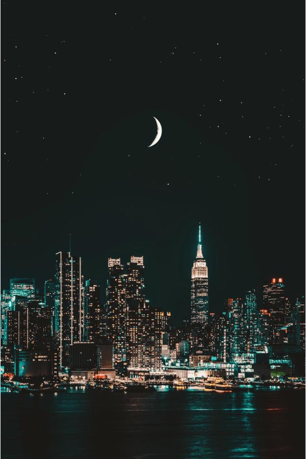 New York City, New York City wallpaper, New York aesthetic, New York City aesthetic, New York wallpaper, NYC wallpaper, New York skyline, night in New York