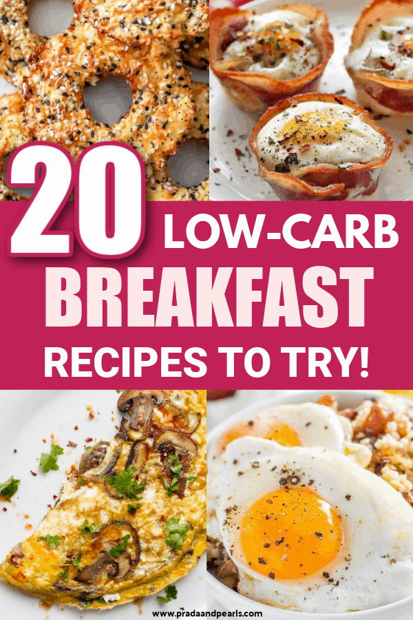 20 Low Carb Breakfast Recipes You Need To Try!