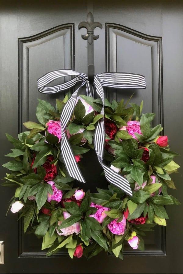 50+ Spring Wreath Ideas To Brighten Your Front Door!