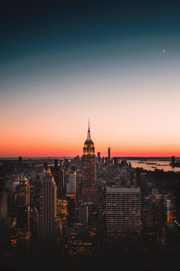 New York City, New York City wallpaper, New York aesthetic, New York City aesthetic, New York wallpaper, NYC wallpaper, New York City skyline, sunset wallpaper, sunset aesthetic