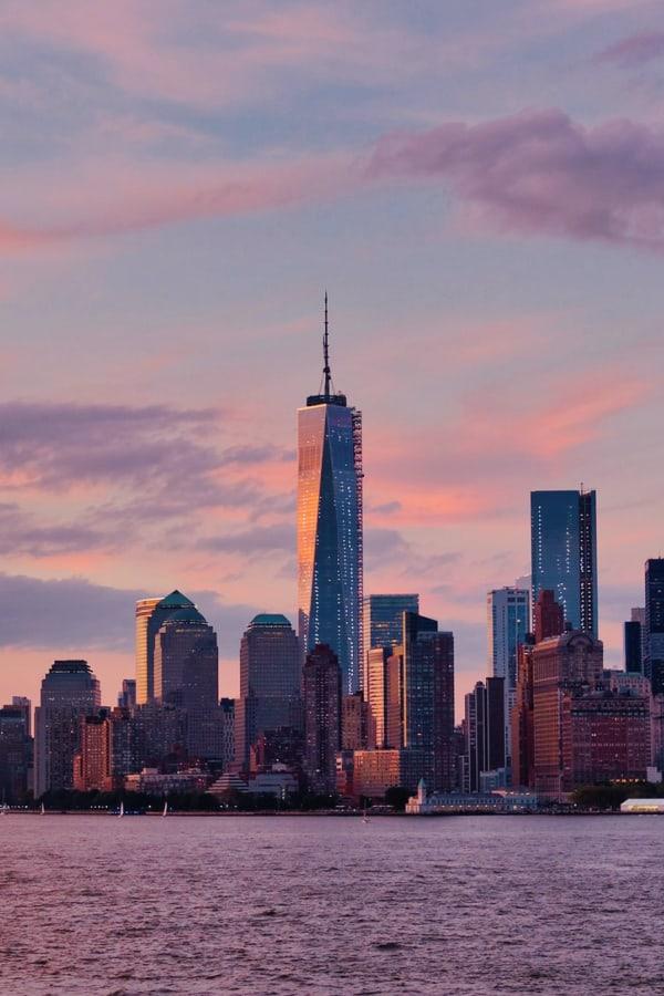 New York City, New York City wallpaper, New York aesthetic, New York City aesthetic, New York wallpaper, NYC wallpaper, sunset wallpaper, sunset aesthetic, pastel wallpaper, cloud aesthetic