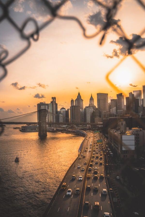 New York City, New York City wallpaper, New York aesthetic, New York City aesthetic, New York wallpaper, NYC wallpaper, sunset wallpaper