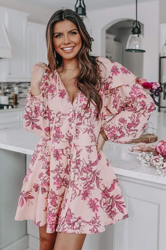 spring dresses 2021, spring dresses, grey dress, spring dresses casual, spring dresses classy, spring dresses for teens, pink floral dress, floral mini dress