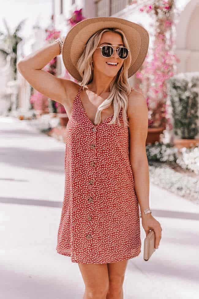 spring dresses 2021, spring dresses, grey dress, spring dresses casual, spring dresses classy, spring dresses for teens, button front dress, red button dress, red mini dress