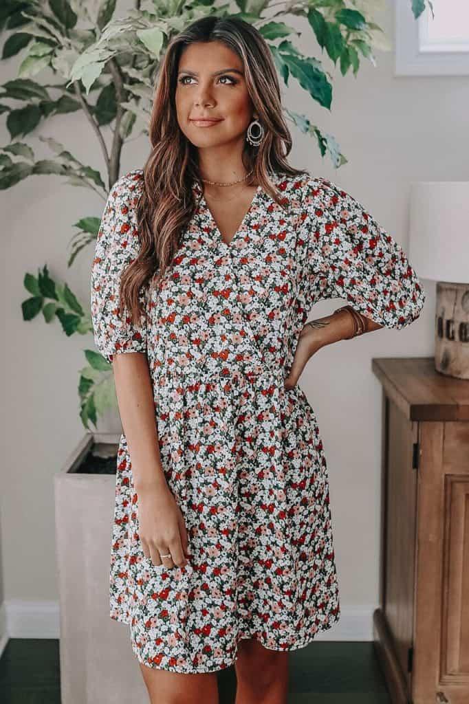 spring dresses 2021, spring dresses, grey dress, spring dresses casual, spring dresses classy, spring dresses for teens, floral Dress, floral mini dress