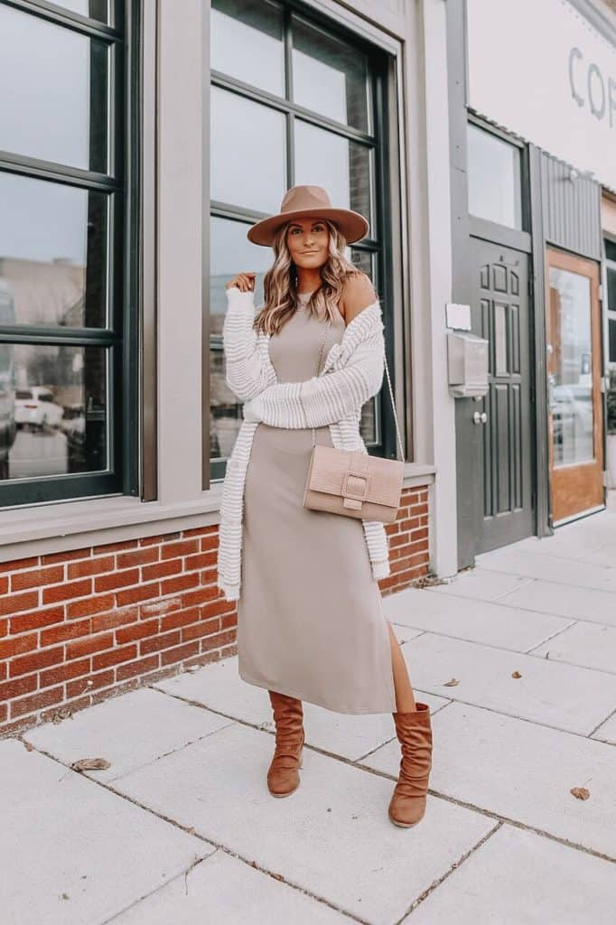spring dresses 2021, spring dresses, grey dress, spring dresses casual, spring dresses classy, spring dresses for teens, neutral outfit, maxi dress
