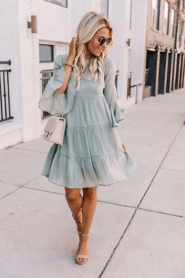spring dresses 2021, spring dresses, grey dress, spring dresses casual, spring dresses classy, spring dresses for teens, sage dress