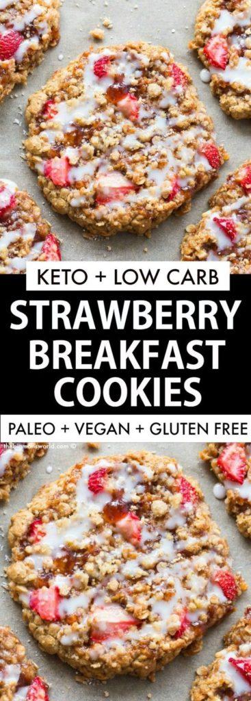 low carb recipes, breakfast recipes, keto recipes, ketogenic recipes, keto breakfast recipes, easy keto breakfast recipes, easy low carb breakfasts, low carb breakfast cookies, keto breakfast cookies