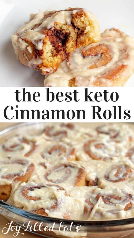 low carb recipes, breakfast recipes, keto recipes, ketogenic recipes, keto breakfast recipes, easy keto breakfast recipes, easy low carb breakfasts, low carb cinnamon buns