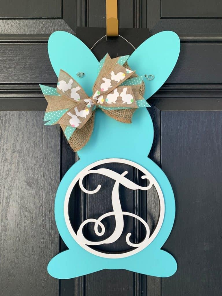 easter wreath ideas, easter wreaths, easter wreaths front door, easter wreath diy, easter decor, easter decor ideas, easter decorations outdoor, easter decorations for the home, bunny wreath, rabbit wreath