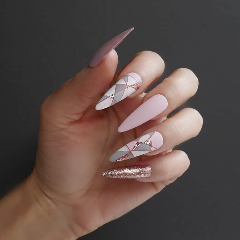 press on nails, best press on nails 2021, cute press on nails, press on nail designs, press on nails short, press on nails coffin, press on nail designs pink, spring press on nails, abstract press on nails, geometric nails, pink nails