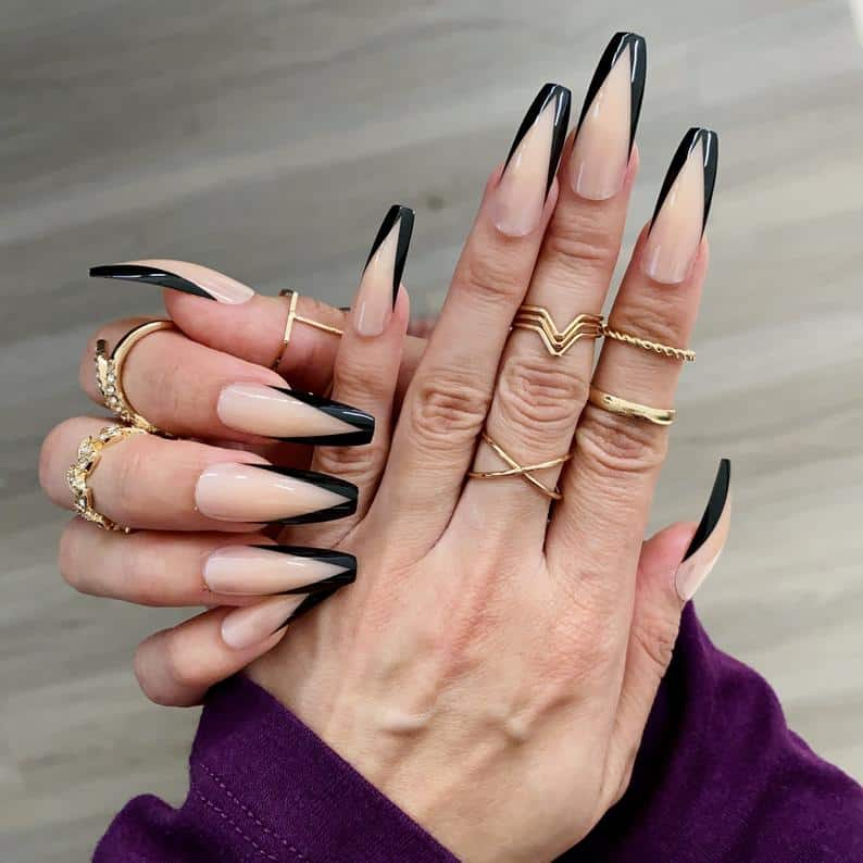 press on nails, best press on nails 2021, cute press on nails, press on nail designs, press on nails short, press on nails coffin, press on nail designs pink, spring press on nails, abstract press on nails, black French tips
