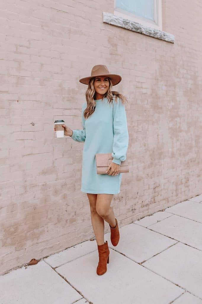 spring dresses 2021, spring dresses, grey dress, spring dresses casual, spring dresses classy, spring dresses for teens, baby blue sweater dress, spring sweater dress