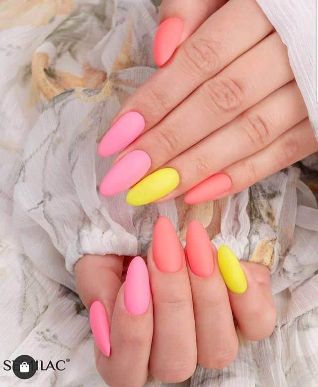 summer nails, summer nails 2021, summer nail ideas, summer nail colors, summer nails acrylic, summer nail designs, summer nail art, easy summer nails, cute summer nails, summer nails short, summer nail trends, matte nails, bright nails, matte nail ideas
