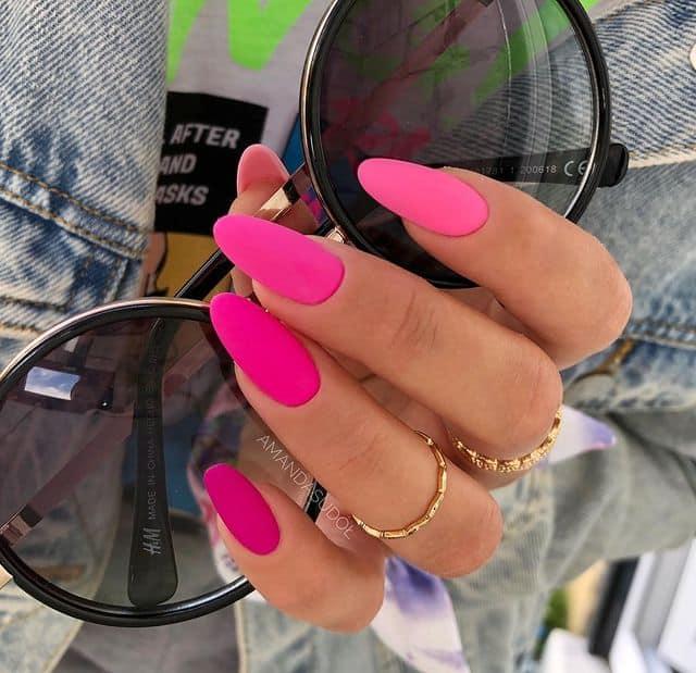 pink nails, pink nail art, pink nail designs, pink nail ideas, pink nails acrylic, pink nail polish, spring nails, hot pink nails, neon pink nails