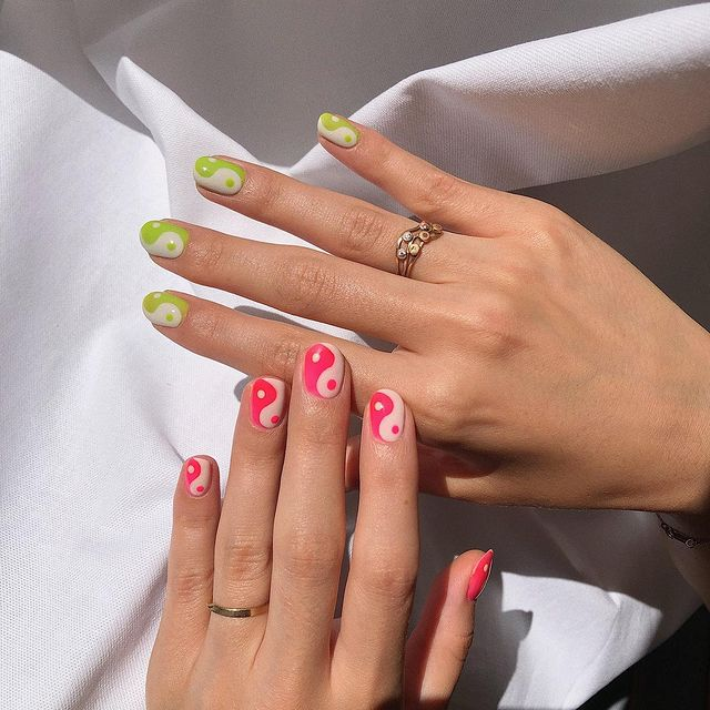 summer nails, summer nails 2021, summer nail ideas, summer nail colors, summer nails acrylic, summer nail designs, summer nail art, easy summer nails, cute summer nails, summer nails short, summer nail trends, indie nails, indie nail art, 90s nails