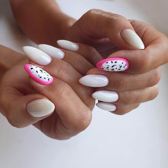 summer nails, summer nails 2021, summer nail ideas, summer nail colors, summer nails acrylic, summer nail designs, summer nail art, easy summer nails, cute summer nails, summer nails short, summer nail trends, fruit nails, fruit nail art, white nails, white nail designs