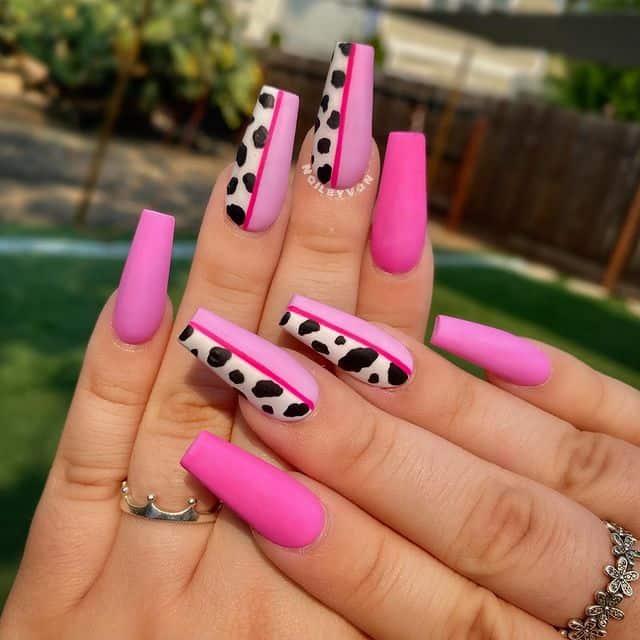 summer nails, summer nails 2021, summer nail ideas, summer nail colors, summer nails acrylic, summer nail designs, summer nail art, easy summer nails, cute summer nails, summer nails short, summer nail trends, cow nails, cow print nail art