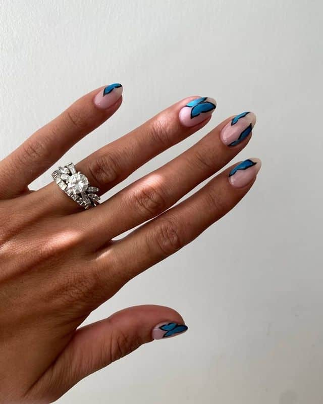 summer nails, summer nails 2021, summer nail ideas, summer nail colors, summer nails acrylic, summer nail designs, summer nail art, easy summer nails, cute summer nails, summer nails short, summer nail trends, butterfly nails, butterfly nail ideas