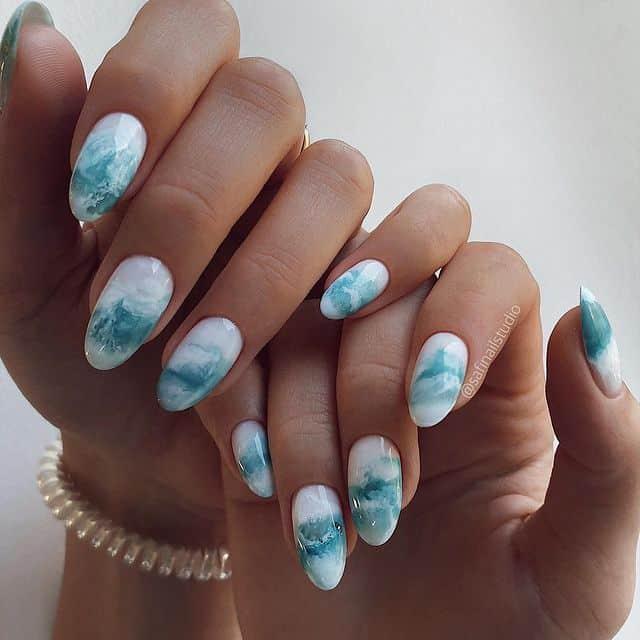 summer nails, summer nails 2021, summer nail ideas, summer nail colors, summer nails acrylic, summer nail designs, summer nail art, easy summer nails, cute summer nails, summer nails short, summer nail trends, marble nails, blue marble nails, marble nail ideas