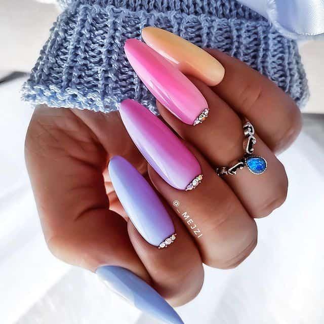 summer nails, summer nails 2021, summer nail ideas, summer nail colors, summer nails acrylic, summer nail designs, summer nail art, easy summer nails, cute summer nails, summer nails short, summer nail trends, ombre nails, ombre nail art