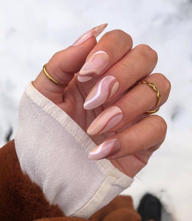 summer nails, summer nails 2021, summer nail ideas, summer nail colors, summer nails acrylic, summer nail designs, summer nail art, easy summer nails, cute summer nails, summer nails short, summer nail trends, neutral nail ideas, swirl nails