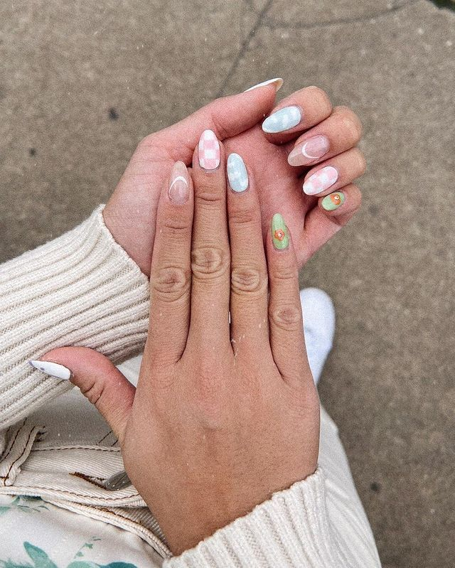 indie nail art, indie nail ideas, indie nails acrylic, indie nails aesthetic, indie nail designs, indie nail ideas acrylic, 90s nails, 90s nail art