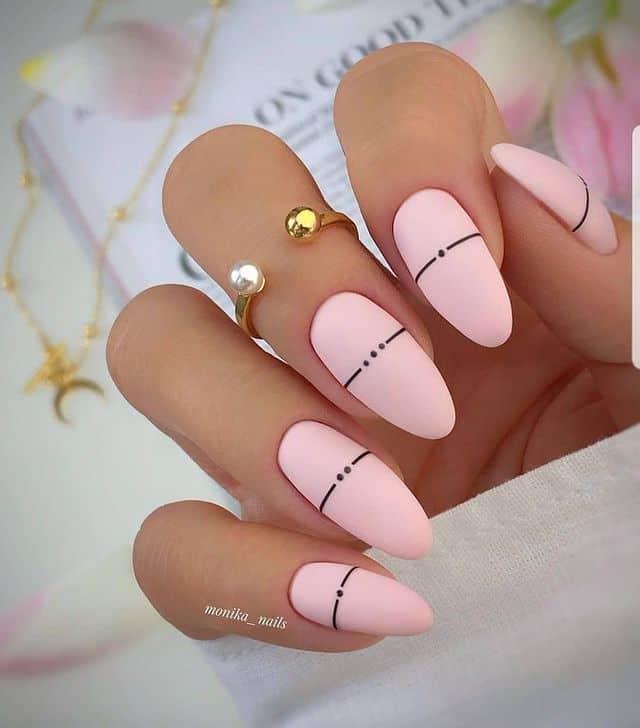 pink nails, pink nail art, pink nail designs, pink nail ideas, pink nails acrylic, pink nail polish, spring nails, matte nails, pink matte nails