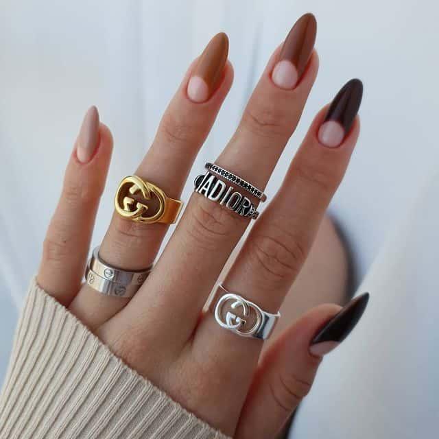 neutral nails, neutral nail designs, neutral nail color, neutral nails acrylic, neutral nail ideas, neutral nail art, neutral nail polish, neutral nail art simple, abstract nail art, abstract nails, ombre nails