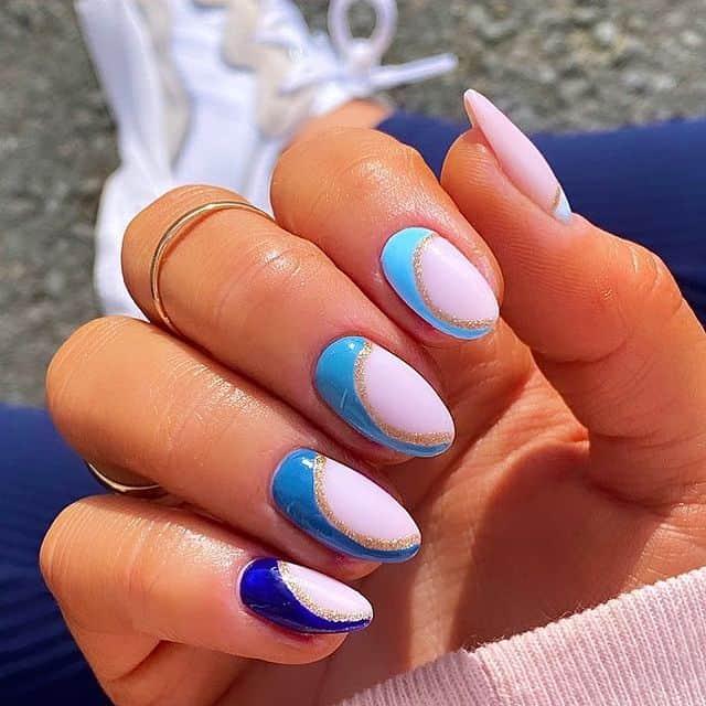 summer nails, summer nails 2021, summer nail ideas, summer nail colors, summer nails acrylic, summer nail designs, summer nail art, easy summer nails, cute summer nails, summer nails short, summer nail trends, blue nails, blue nail ideas