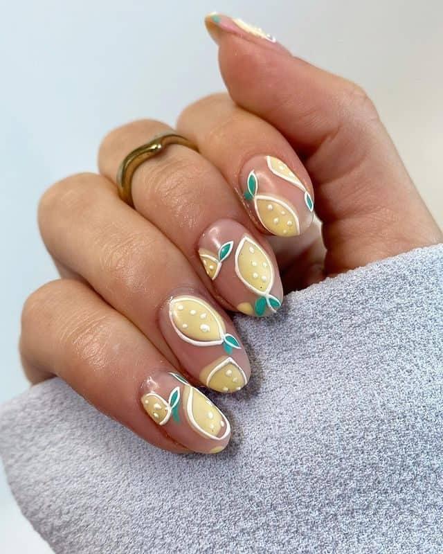summer nails, summer nails 2021, summer nail ideas, summer nail colors, summer nails acrylic, summer nail designs, summer nail art, easy summer nails, cute summer nails, summer nails short, summer nail trends , lemon nails, yellow nail ideas