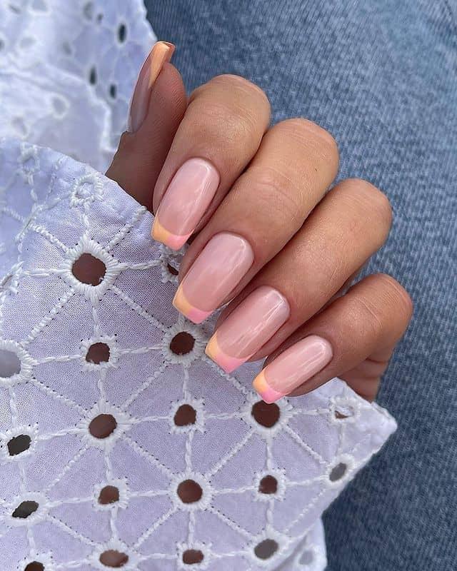 summer nails, summer nails 2021, summer nail ideas, summer nail colors, summer nails acrylic, summer nail designs, summer nail art, easy summer nails, cute summer nails, summer nails short, summer nail trends, French tip nails, pastel nails