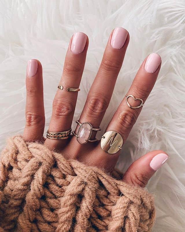 pink nails, pink nail art, pink nail designs, pink nail ideas, pink nails acrylic, pink nail polish, spring nails, short nails, short pink nails