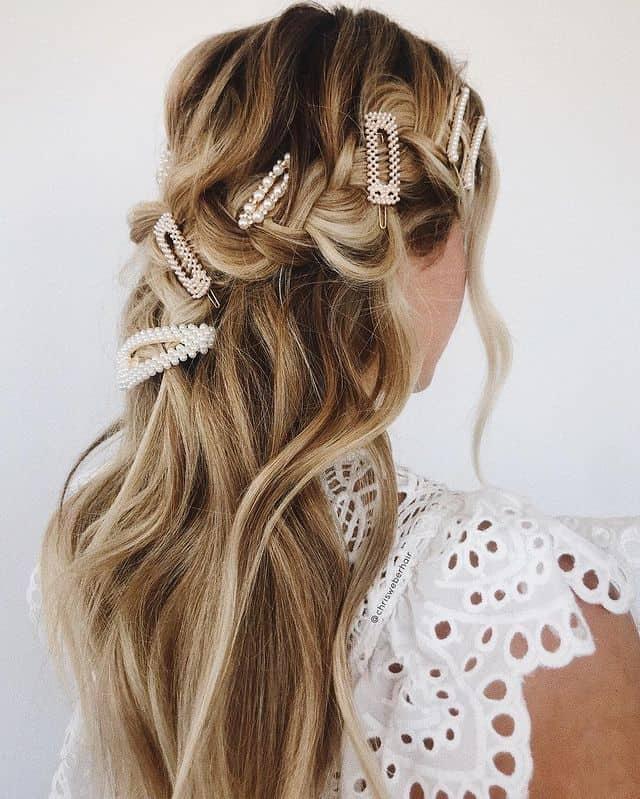 braided hairstyle, long braided hairstyle, boho braids, boho braids hairstyle, easy braided hairstyle, wedding hair, wedding hairstyles, braided wedding hair, braids for long hair, braided hairstyles for wedding, braided hairstyles for long hair