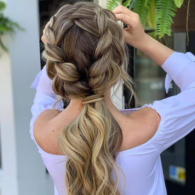 braided hairstyle, long braided hairstyle, boho braids, boho braids hairstyle, easy braided hairstyle, wedding hair, wedding hairstyles, braided wedding hair, braids for long hair, braided hairstyles for wedding, braided hairstyles for long hair, braided ponytail, ponytail wedding hair