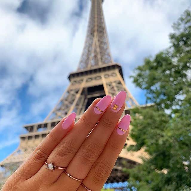 pink nails, pink nail art, pink nail designs, pink nail ideas, pink nails acrylic, pink nail polish, spring nails, Chanel nails