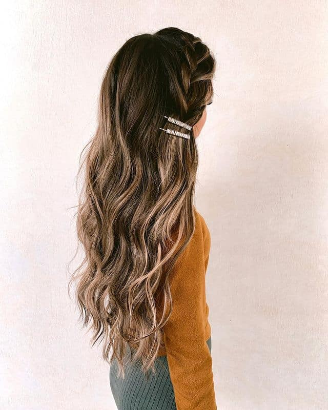 braided hairstyle, long braided hairstyle, boho braids, boho braids hairstyle, easy braided hairstyle, wedding hair, wedding hairstyles, braided wedding hair, braids for long hair, braided hairstyles for wedding, braided hairstyles for long hair, side braid