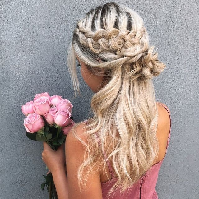 braided hairstyle, long braided hairstyle, boho braids, boho braids hairstyle, easy braided hairstyle, wedding hair, wedding hairstyles, braided wedding hair, braids for long hair, braided hairstyles for wedding, braided hairstyles for long hair, half up braided hairstyle