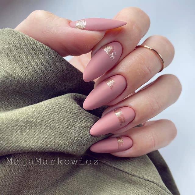 pink nails, pink nail art, pink nail designs, pink nail ideas, pink nails acrylic, pink nail polish, spring nails, matte nails, matte pink nails