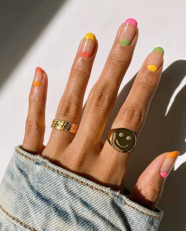 summer nails, summer nails 2021, summer nail ideas, summer nail colors, summer nails acrylic, summer nail designs, summer nail art, easy summer nails, cute summer nails, summer nails short, summer nail trends, indie nails, rainbow nails, rainbow nail art