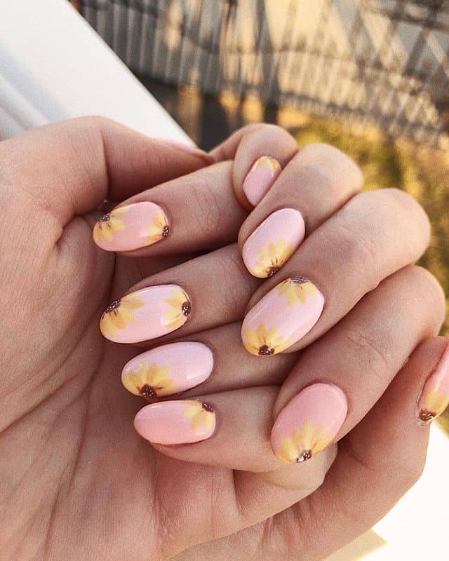 summer nails, summer nails 2021, summer nail ideas, summer nail colors, summer nails acrylic, summer nail designs, summer nail art, easy summer nails, cute summer nails, summer nails short, summer nail trends, sunflower nails, sunflower nail art