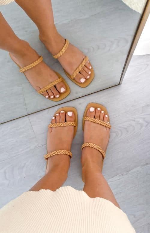 spring sandals, sandals, waffle sandals, spring sandals 2021, spring sandals flats, braided sandals, nude sandals