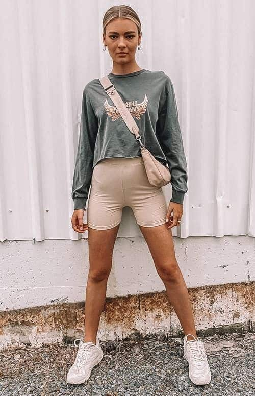 20+ Biker Shorts Outfits To Give You Inspiration!