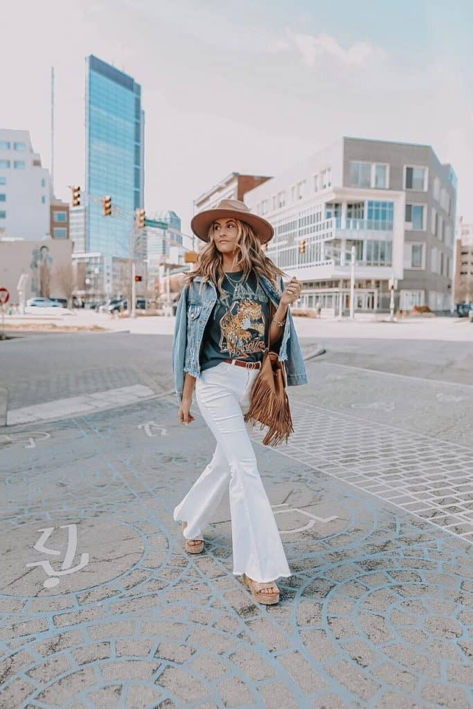 graphic tee, graphic tee outfit, graphic tees vintage, graphic tees streetwear, graphic tee outfit street style, graphic tee outfit baddie, graphic tee outfit spring, bell bottom jeans outfit