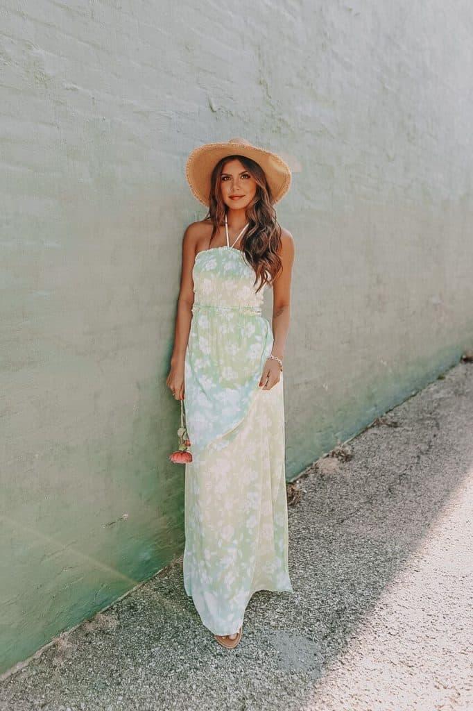 maxi dress, maxi dress outfit, maxi dresses casual, maxi dress summer, maxi dress ideas, maxi dress spring, halter dress, floral maxi dress
