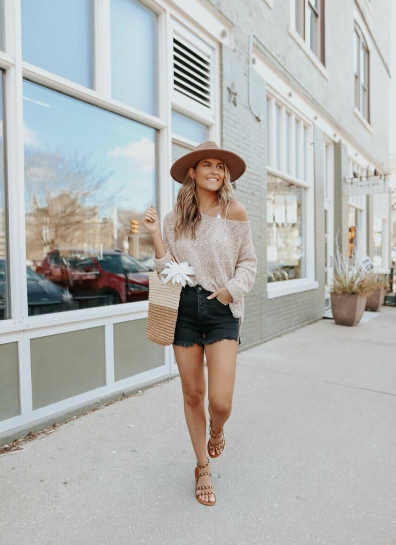 30+ Cute Denim Shorts Outfits To Give You Inspo!