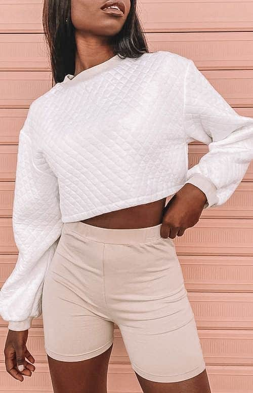biker shorts, biker shorts outfit, biker shorts outfit summer, biker shorts outfit baddie, biker shorts street style, athleisure outfit