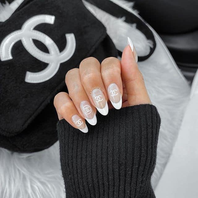 white nails, white nail ideas, white nail designs, white nails acrylic, whit nails with designs, white nail ideas acrylic, white nail polish, designer nail ideas